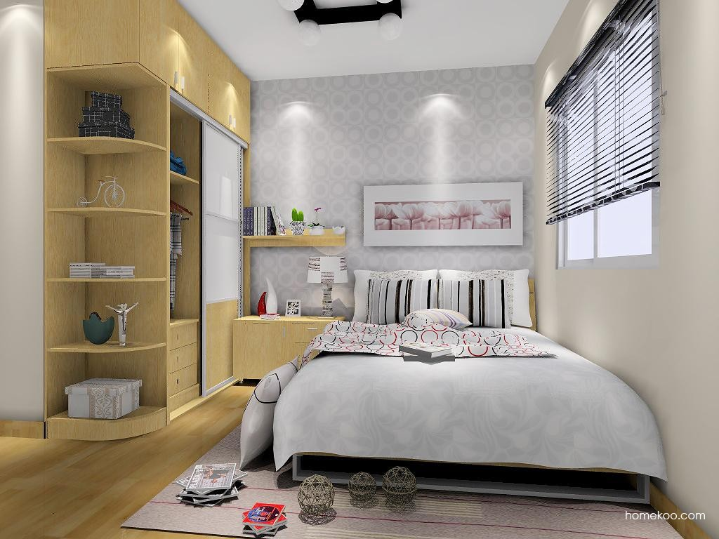 新实用主义卧房家具A6527