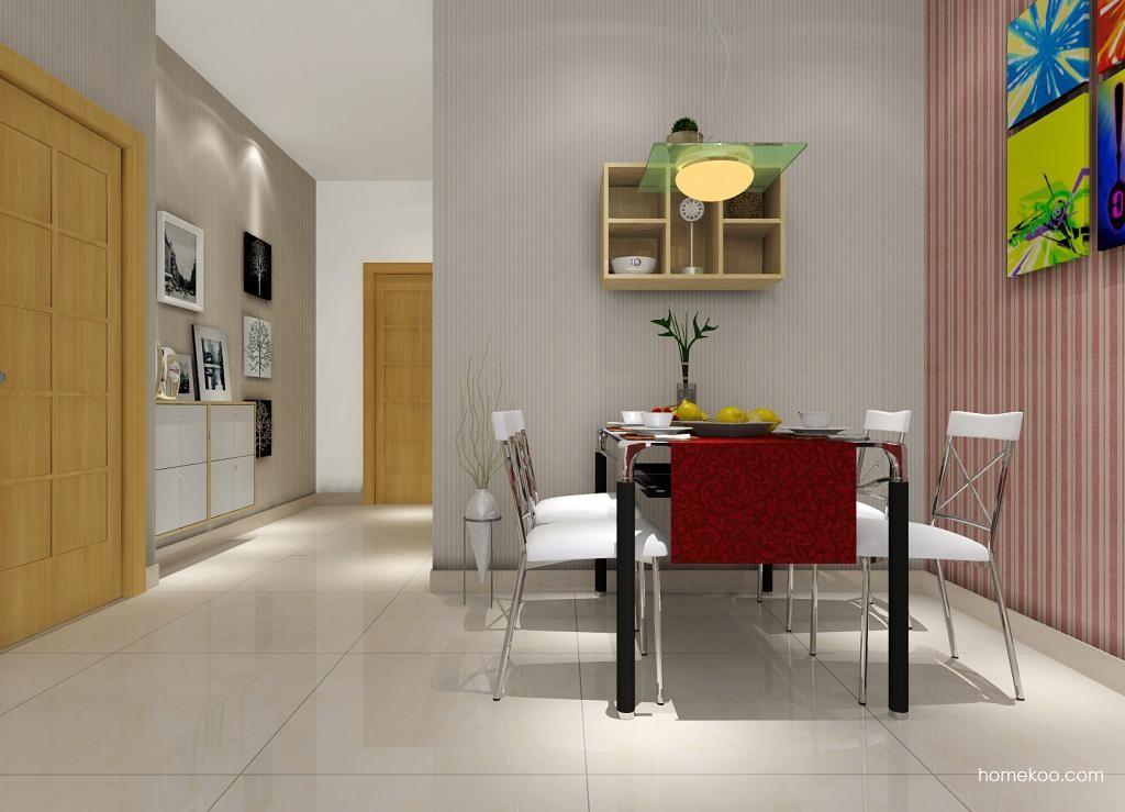 新实用主义餐厅家具E0945
