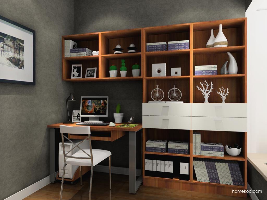 新实用主义书房家具C3668