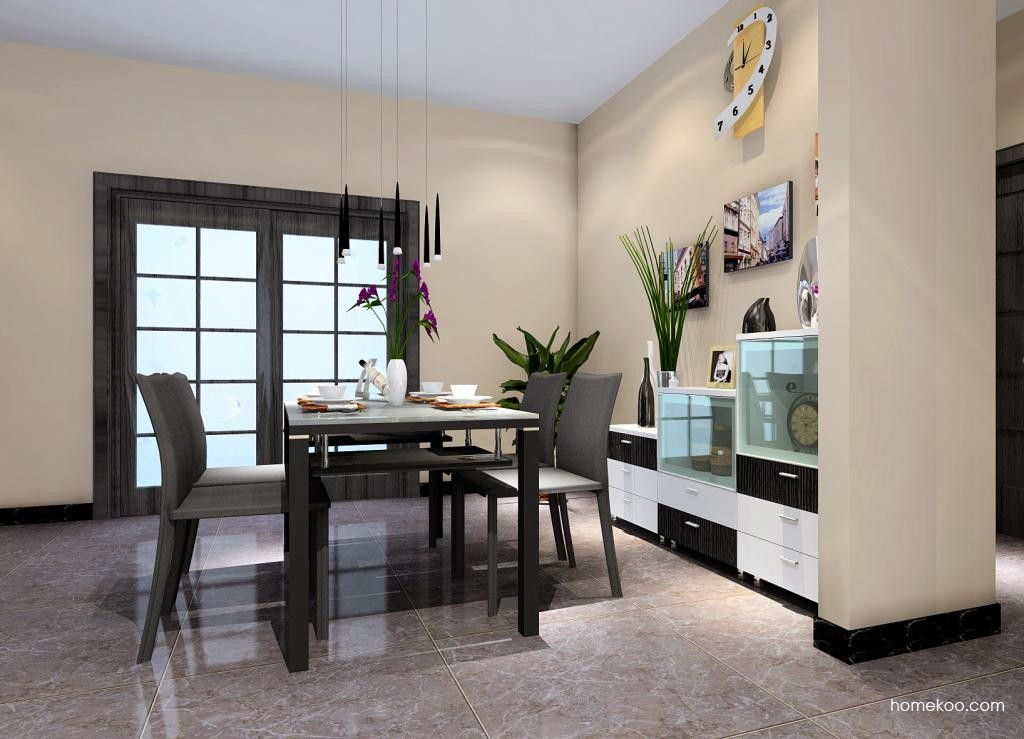 简约主义餐厅家具E0993
