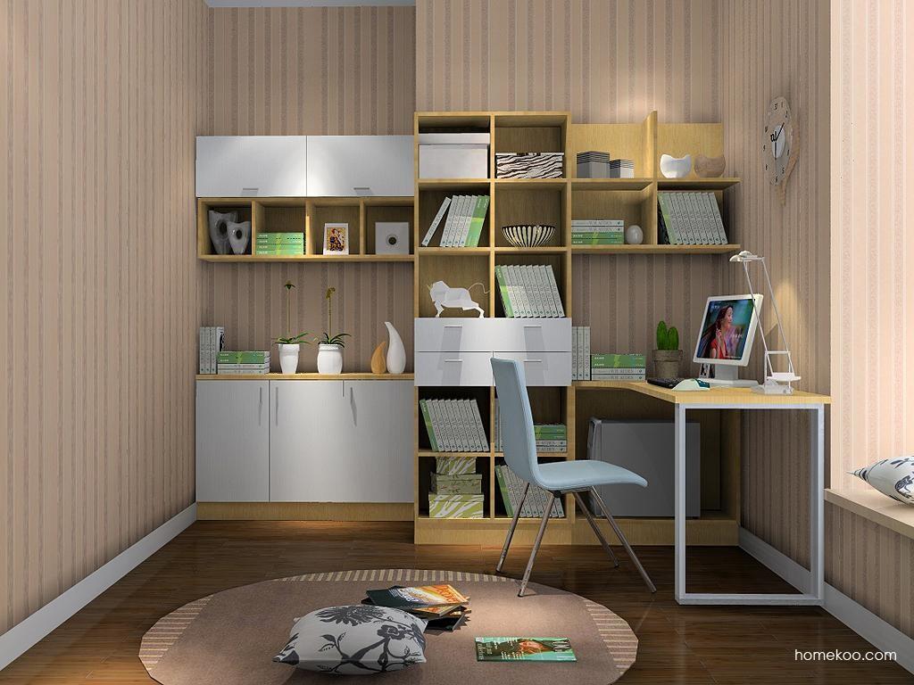 新实用主义书房家具C3676