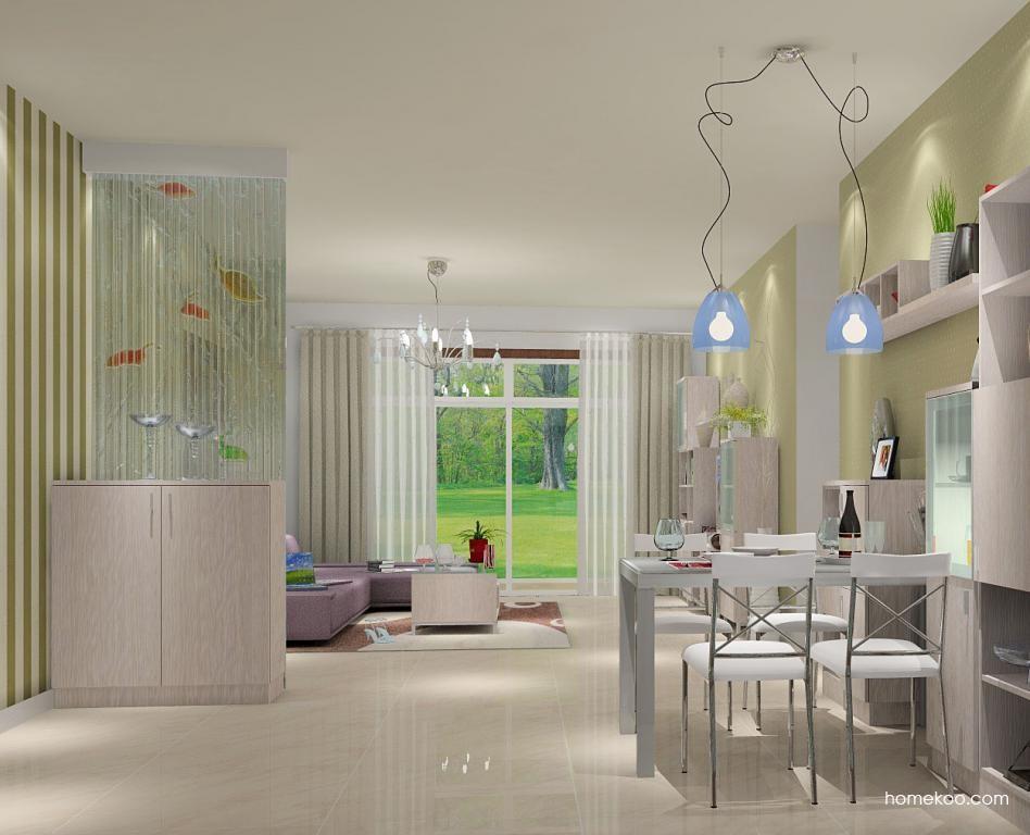 新实用主义餐厅家具E1001