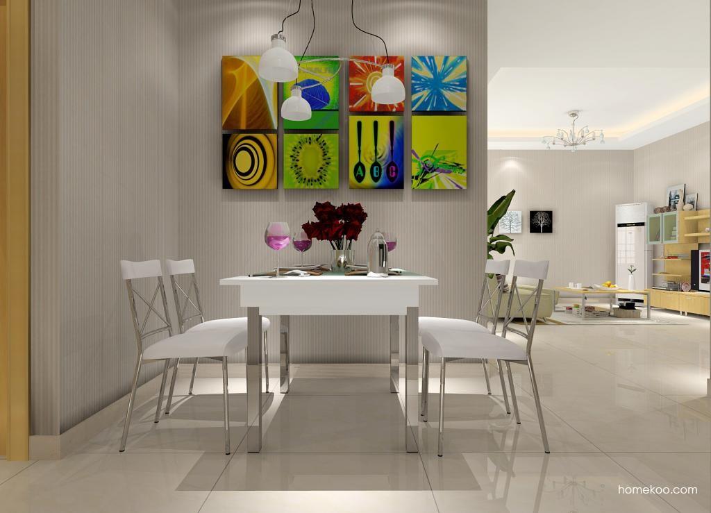 新实用主义餐厅家具E1008