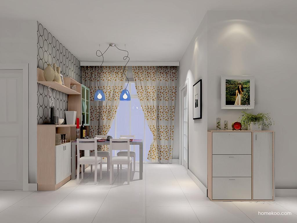 新实用主义餐厅家具E1013