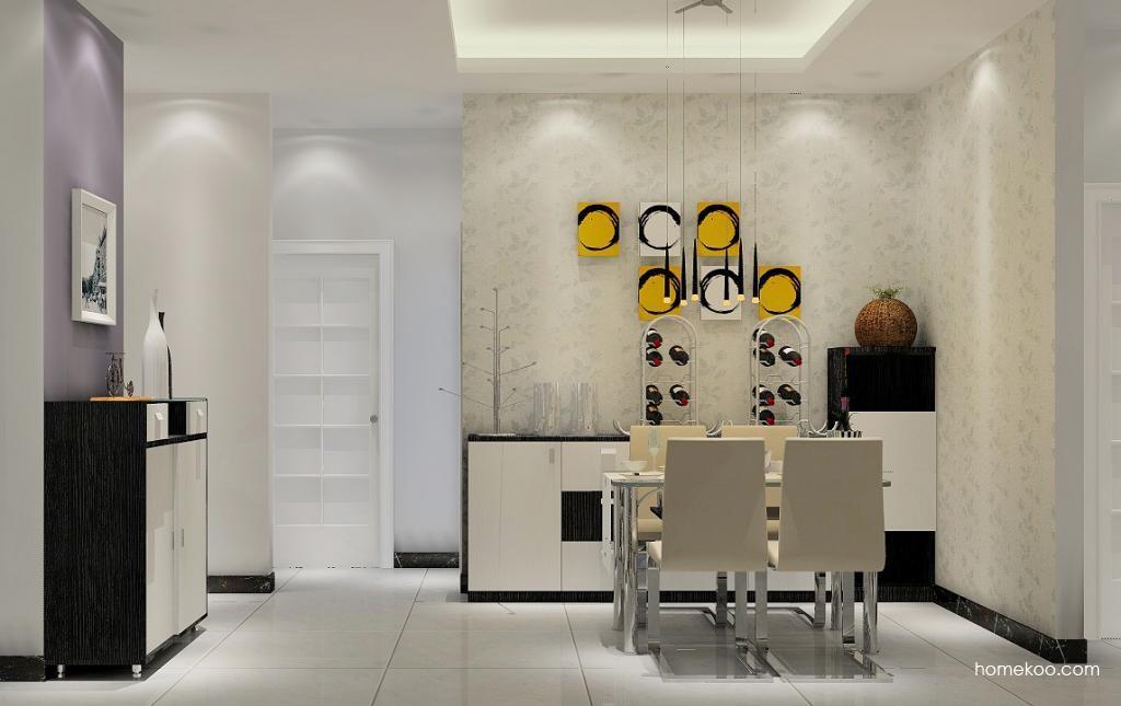 简约主义餐厅家具E1017