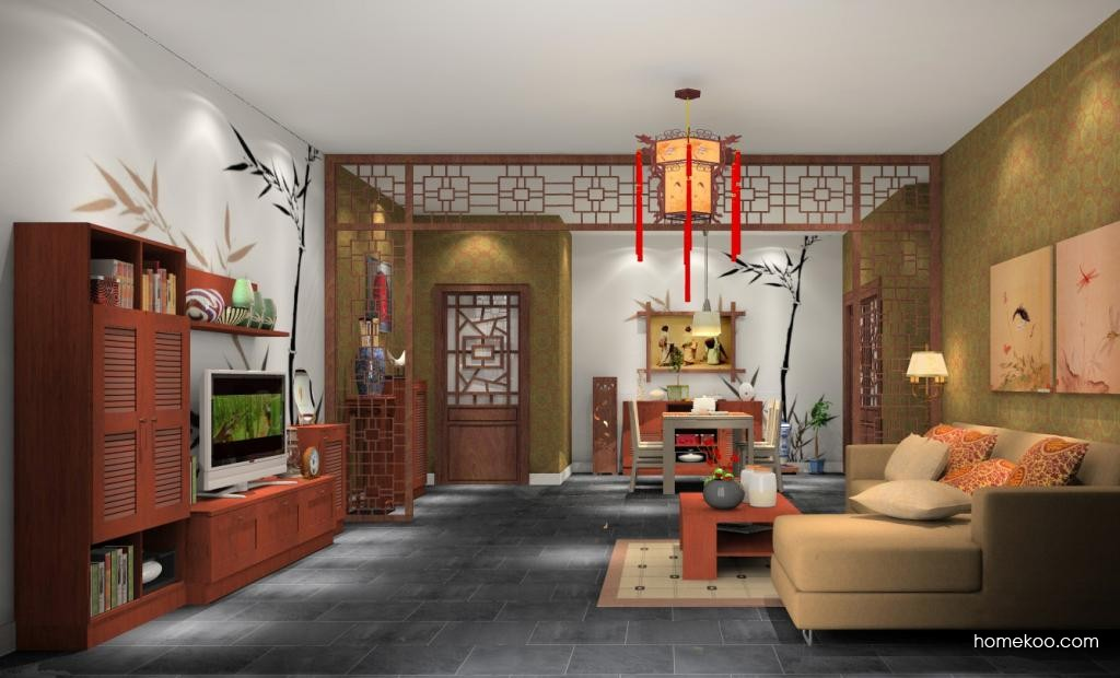 新中式主义客餐厅G1839