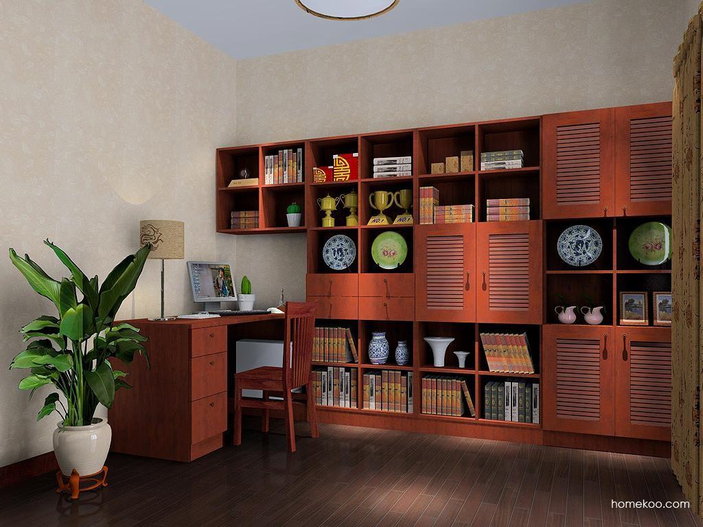 新中式主义书房家具C3692