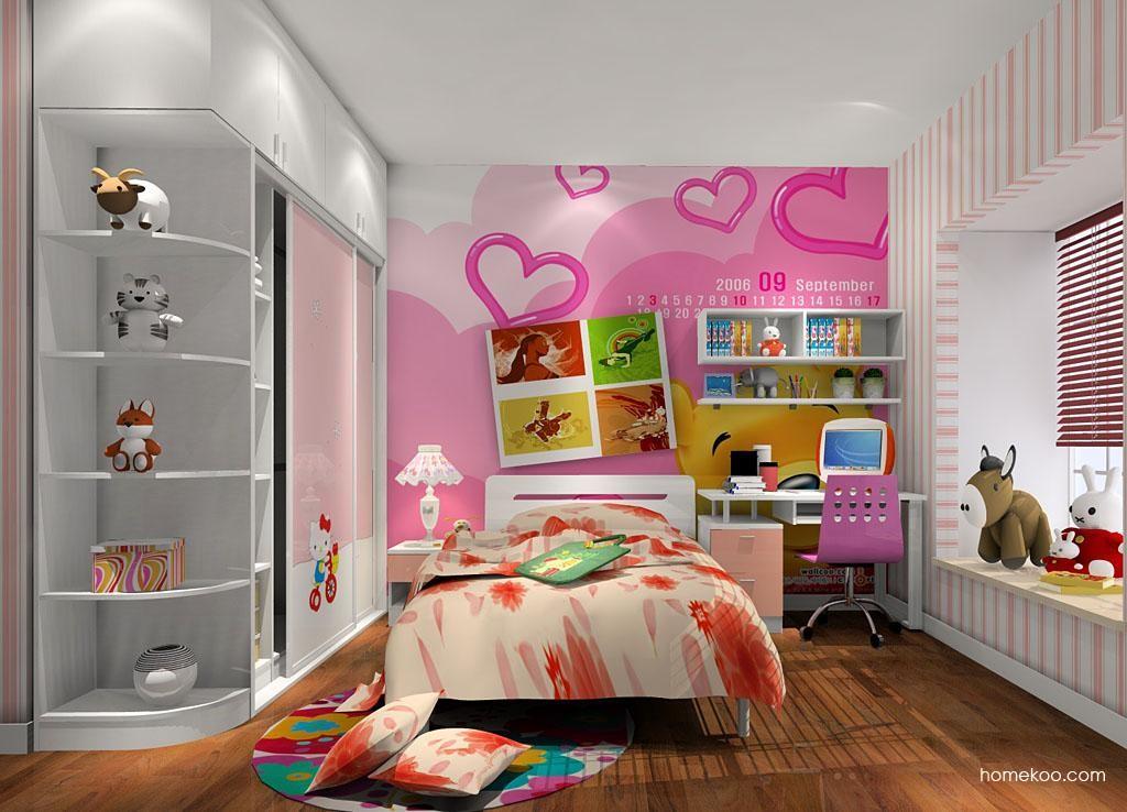 女孩的梦青少年房B6489