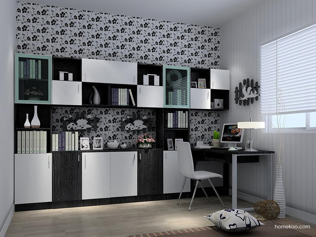 简约主义书房家具C3700