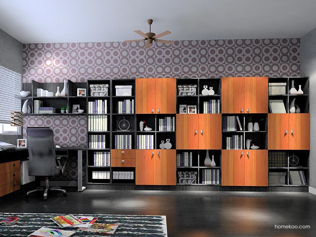德国森林书房家具C3702