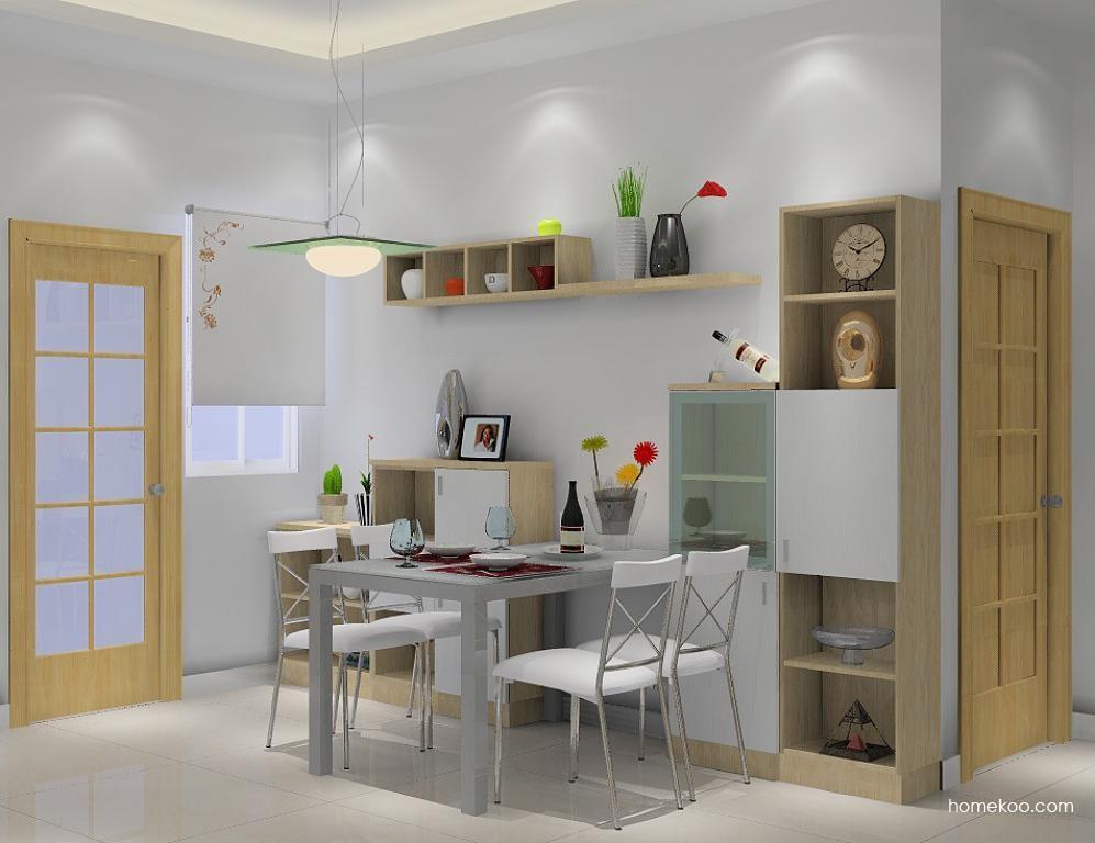新实用主义餐厅家具E1050