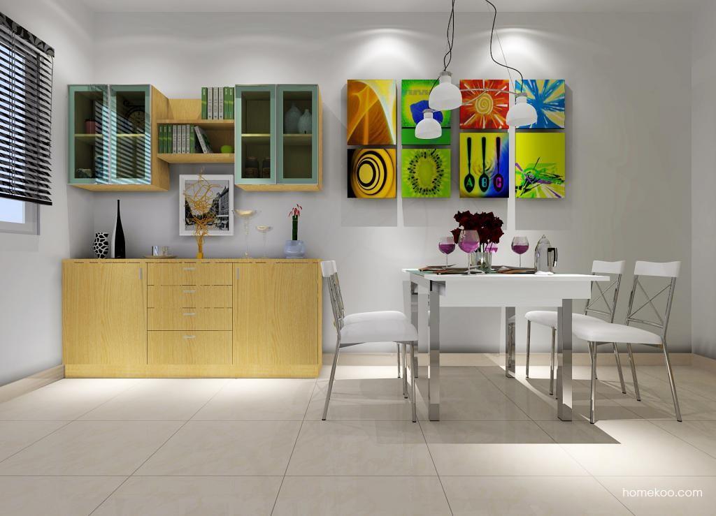 新实用主义餐厅家具E1057