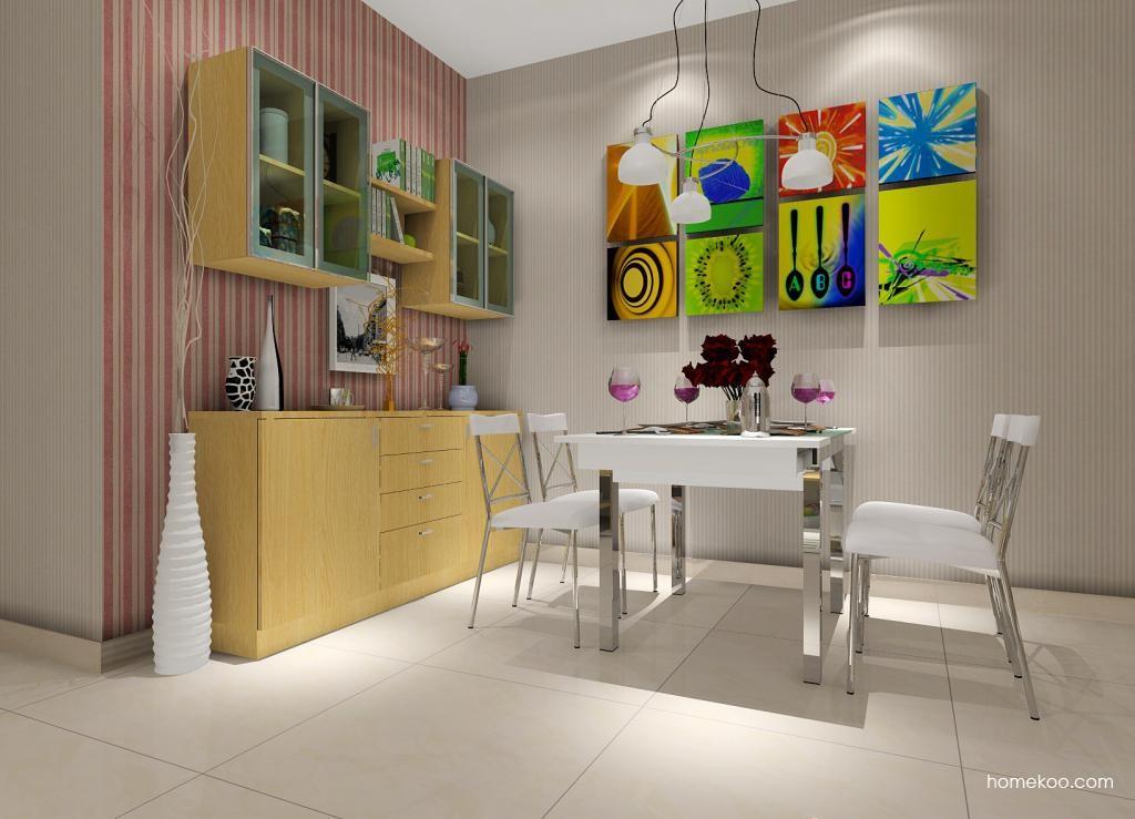 新实用主义餐厅家具E1063