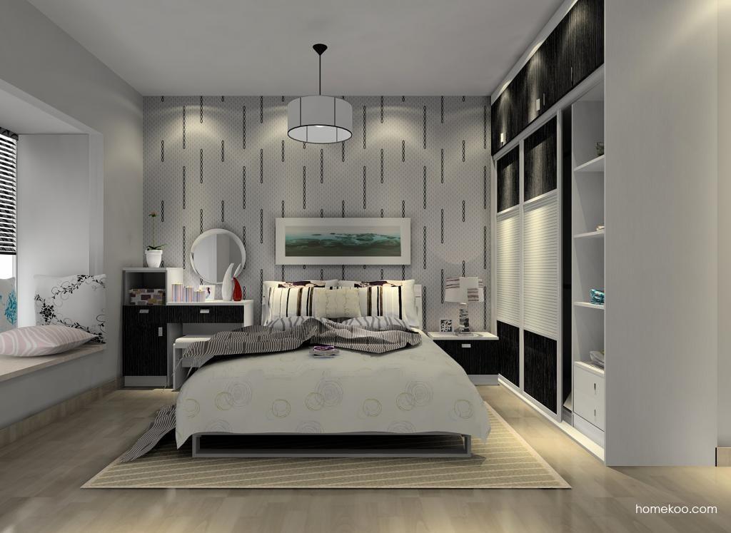 简约主义卧房家具A6659