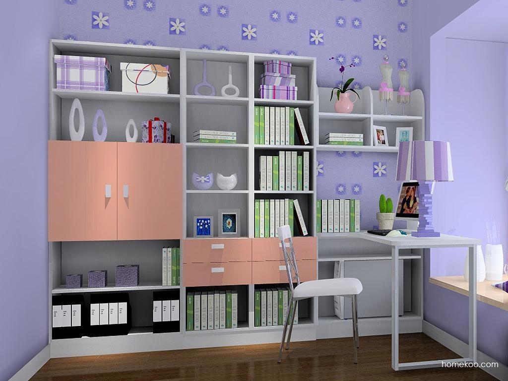 浪漫主义书房家具C3717