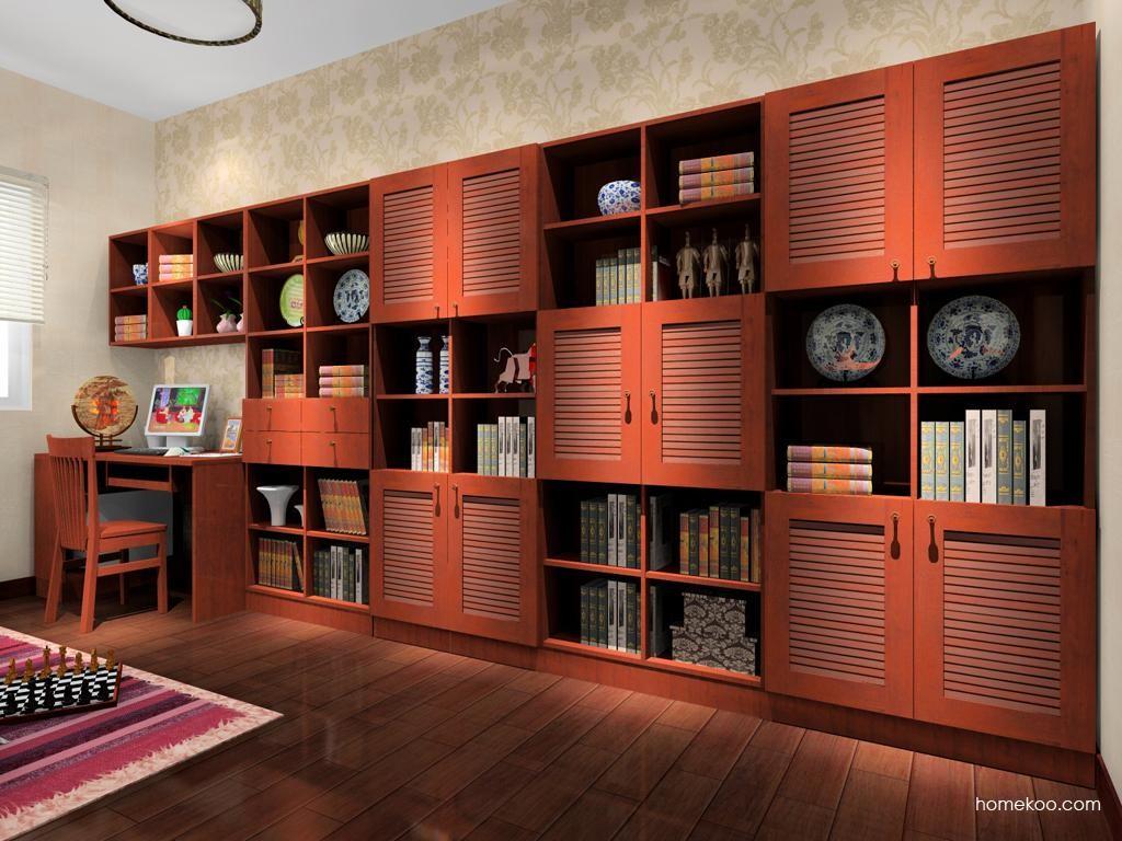 新中式主义书房家具C3729