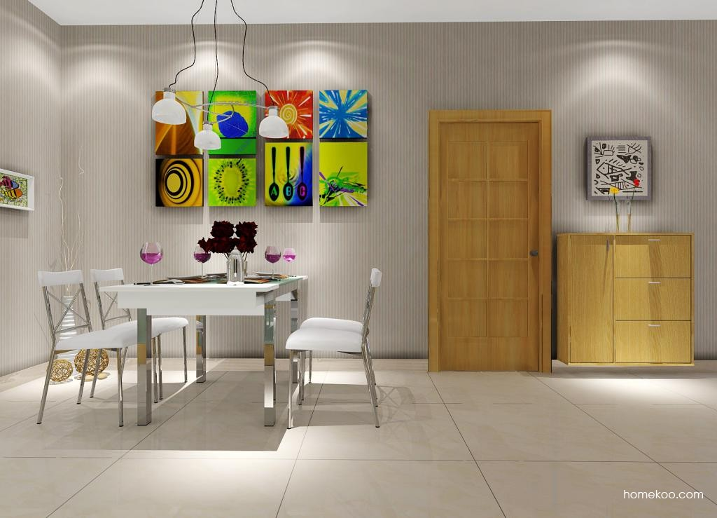新实用主义餐厅家具E1081