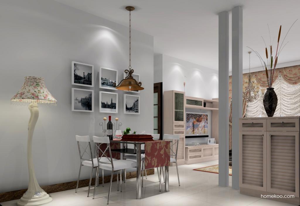 北欧阳光餐厅家具E1093
