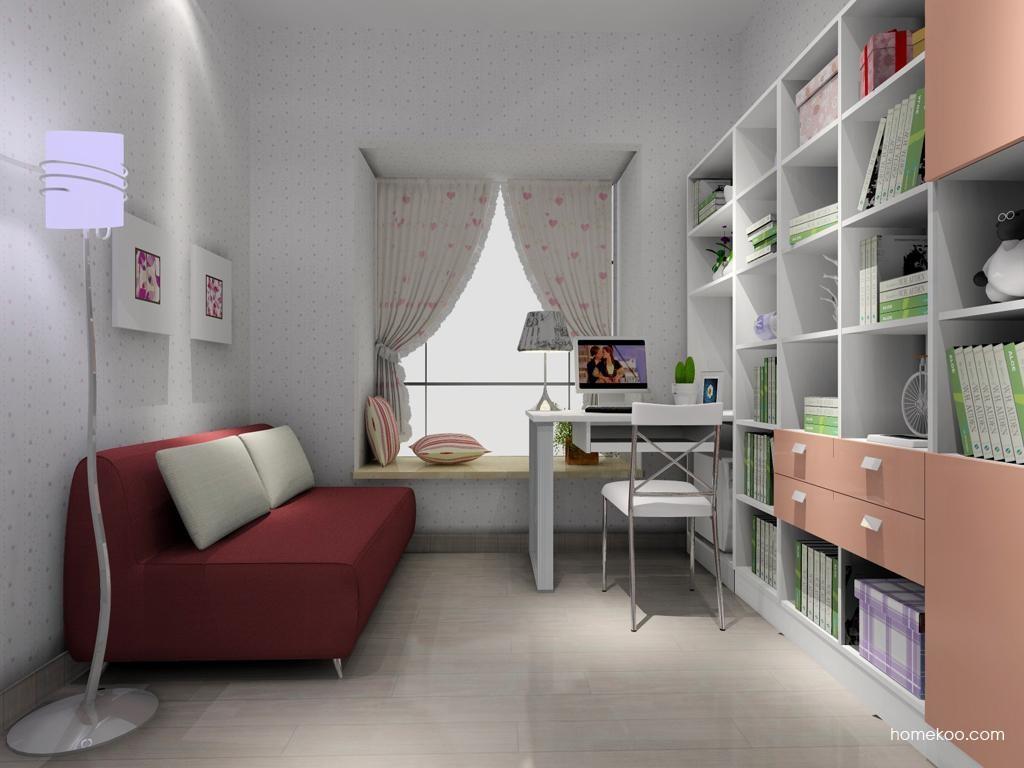 浪漫主义书房家具C3742