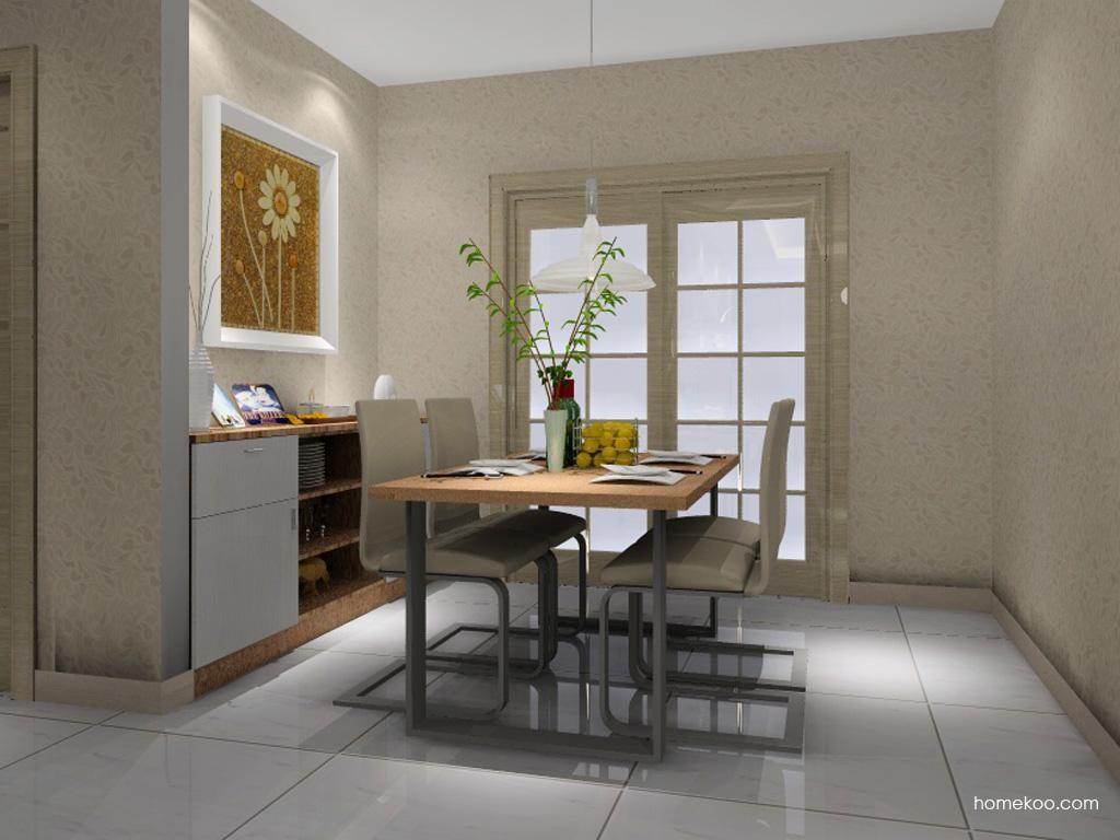 新实用主义餐厅家具E1091