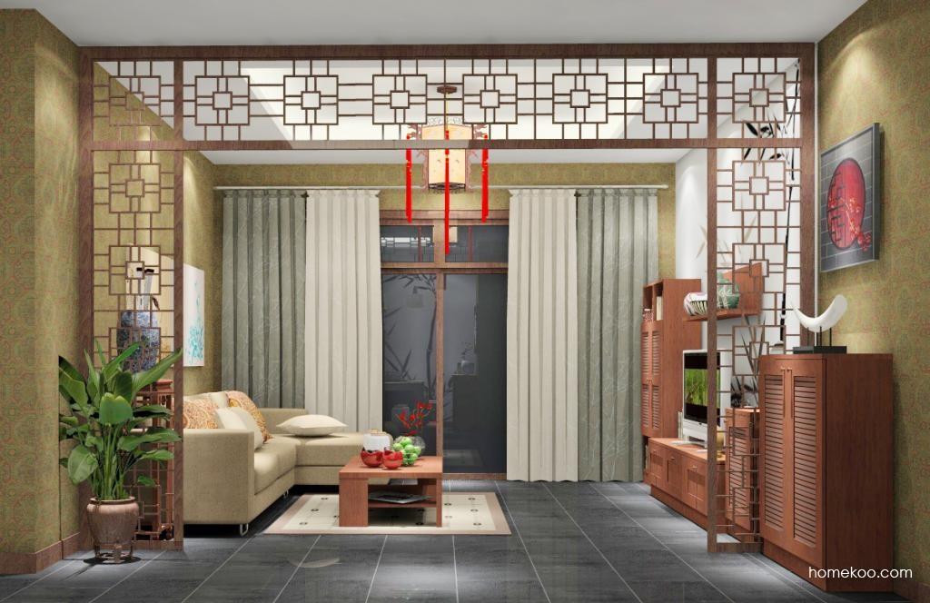 新中式主义客餐厅G6529