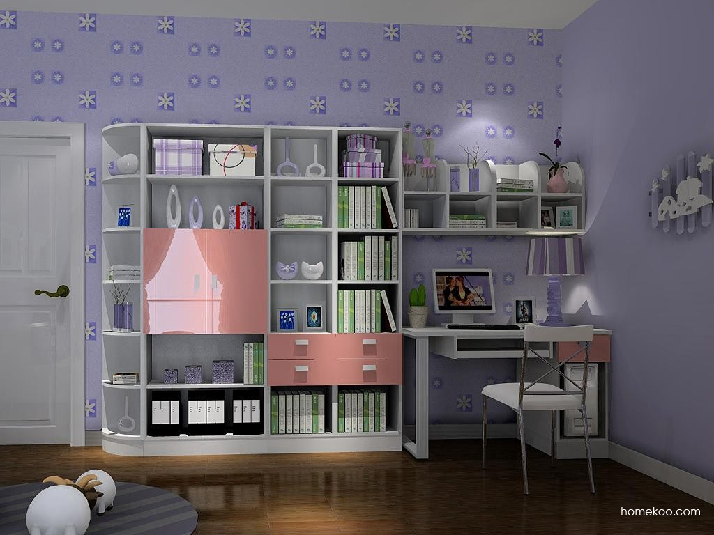 浪漫主义书房家具C3757