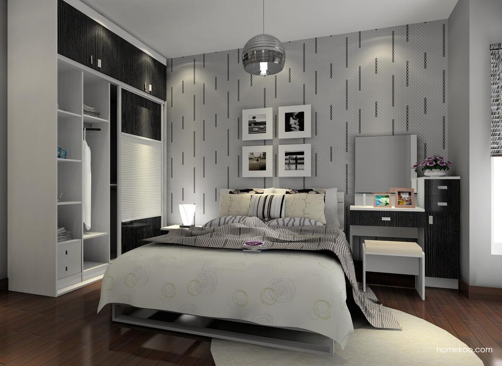 简约主义卧房家具A6708