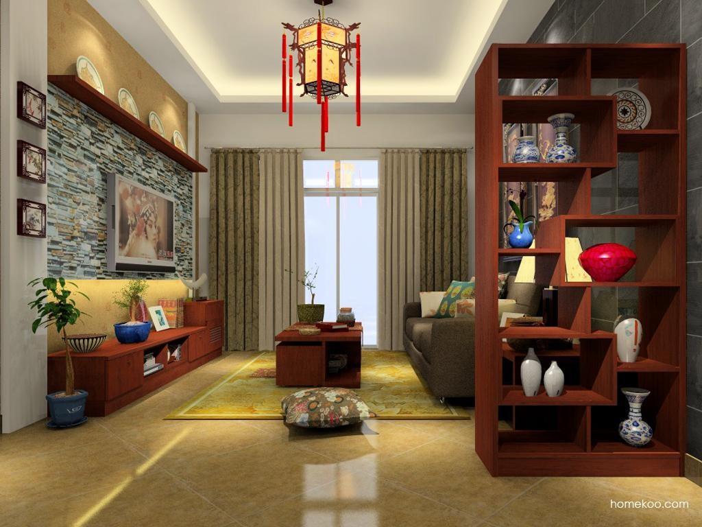 新中式主义客厅家具D0873