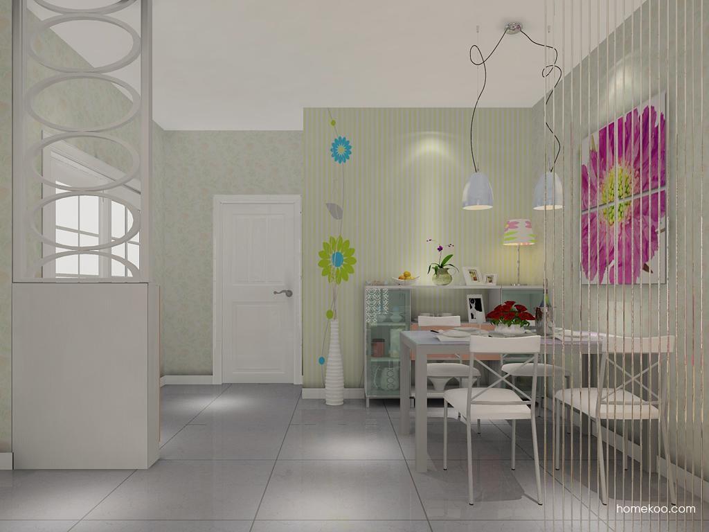 浪漫主义餐厅家具E1100
