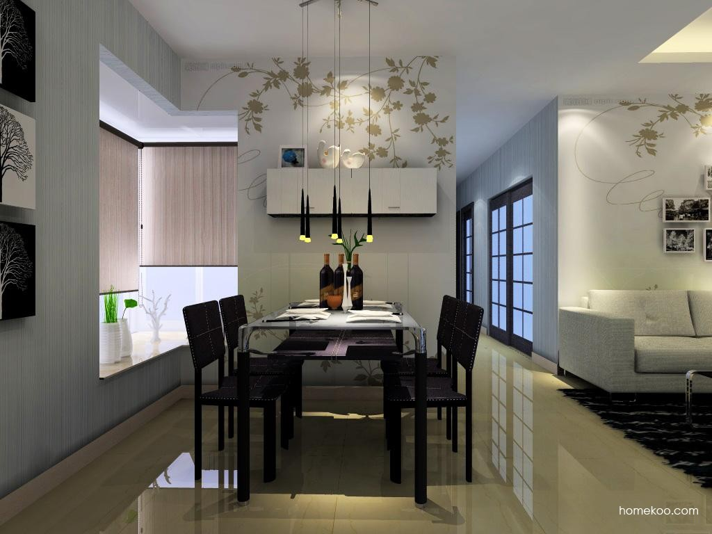 简约主义餐厅家具E1120