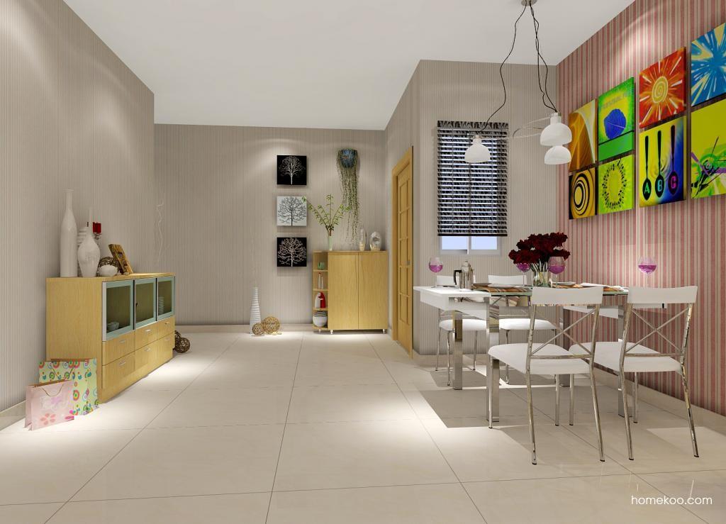 新实用主义餐厅家具E1127