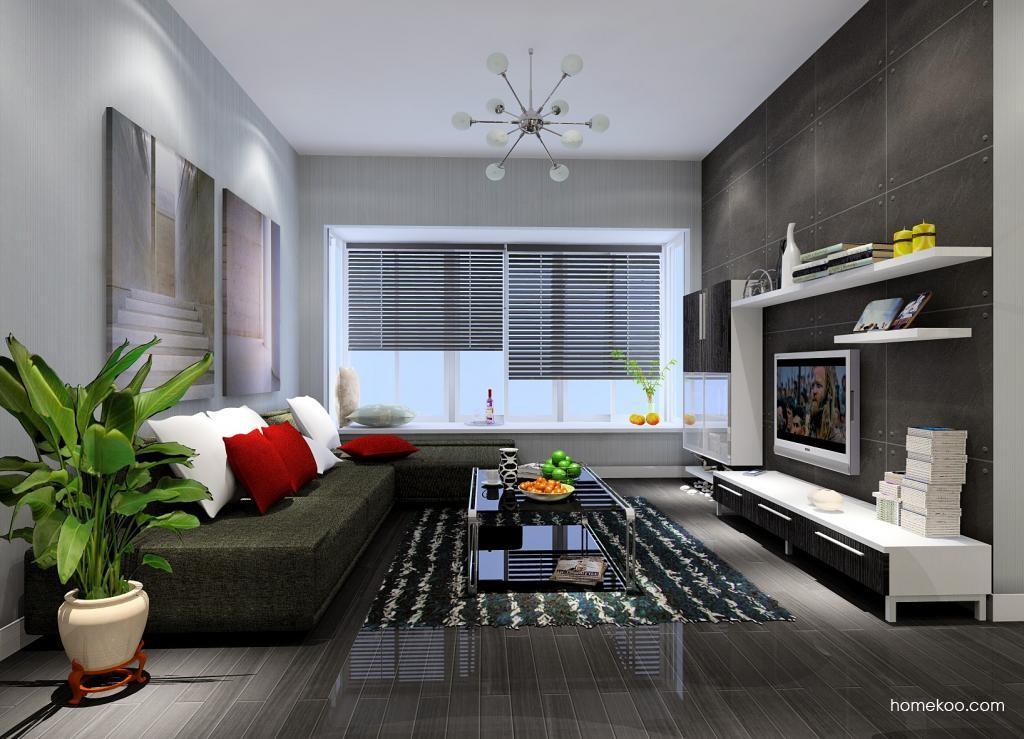 简约主义客厅家具D0906