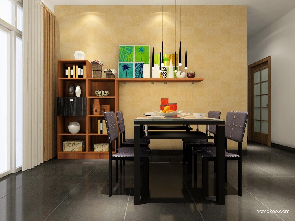 德国森林餐厅家具E1129