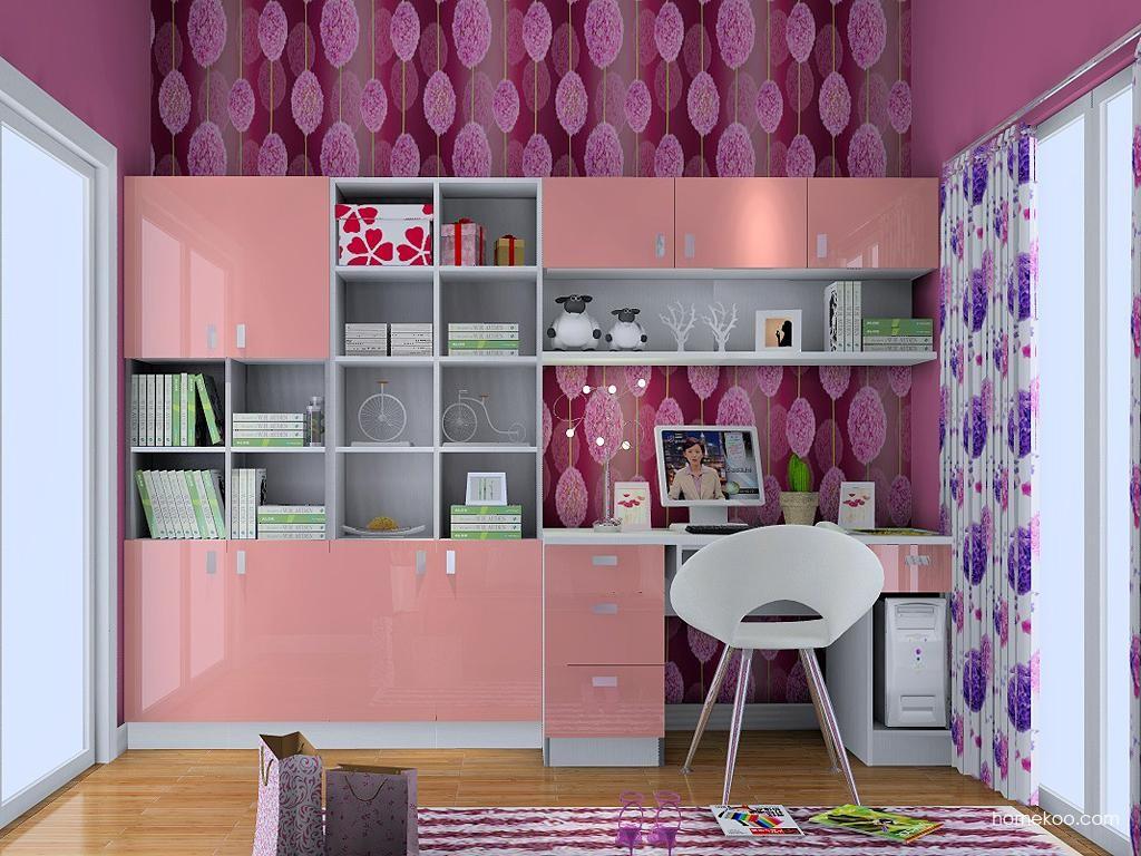 浪漫主义书房家具C3799