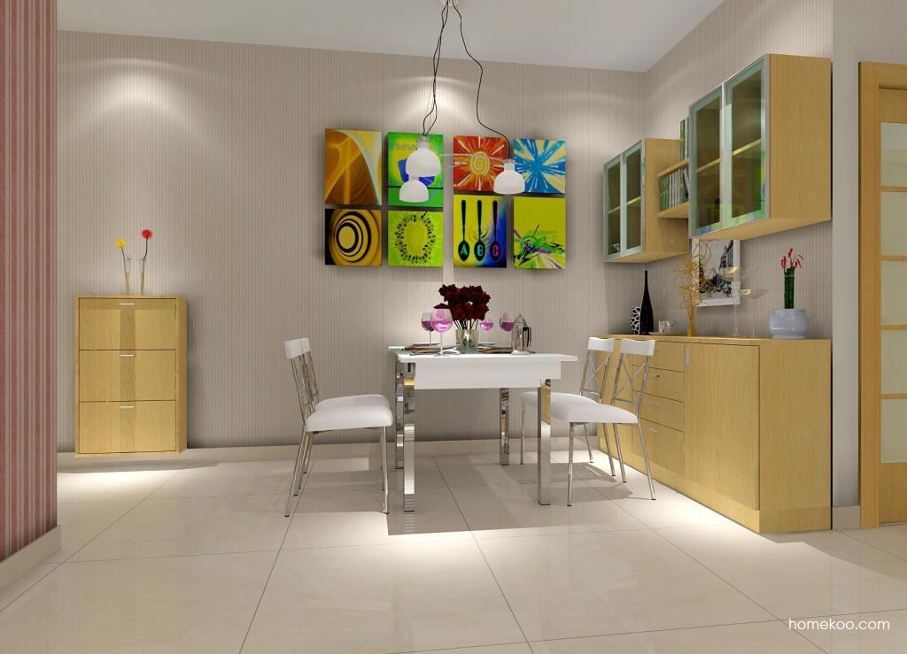 新实用主义餐厅家具E1150