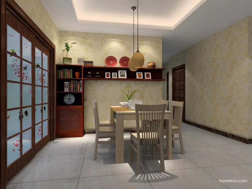 新中式主义餐厅家具E1141