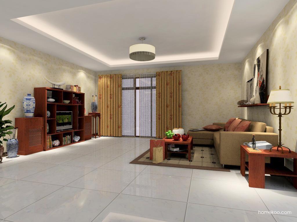 新中式主义客厅家具D0915