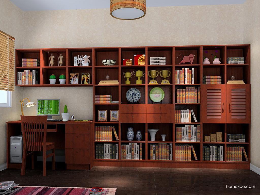 新中式主义书房家具C3798
