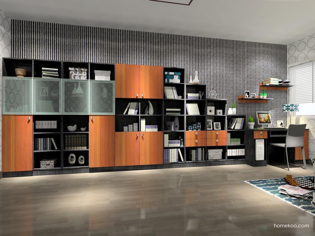 德国森林书房家具C3806