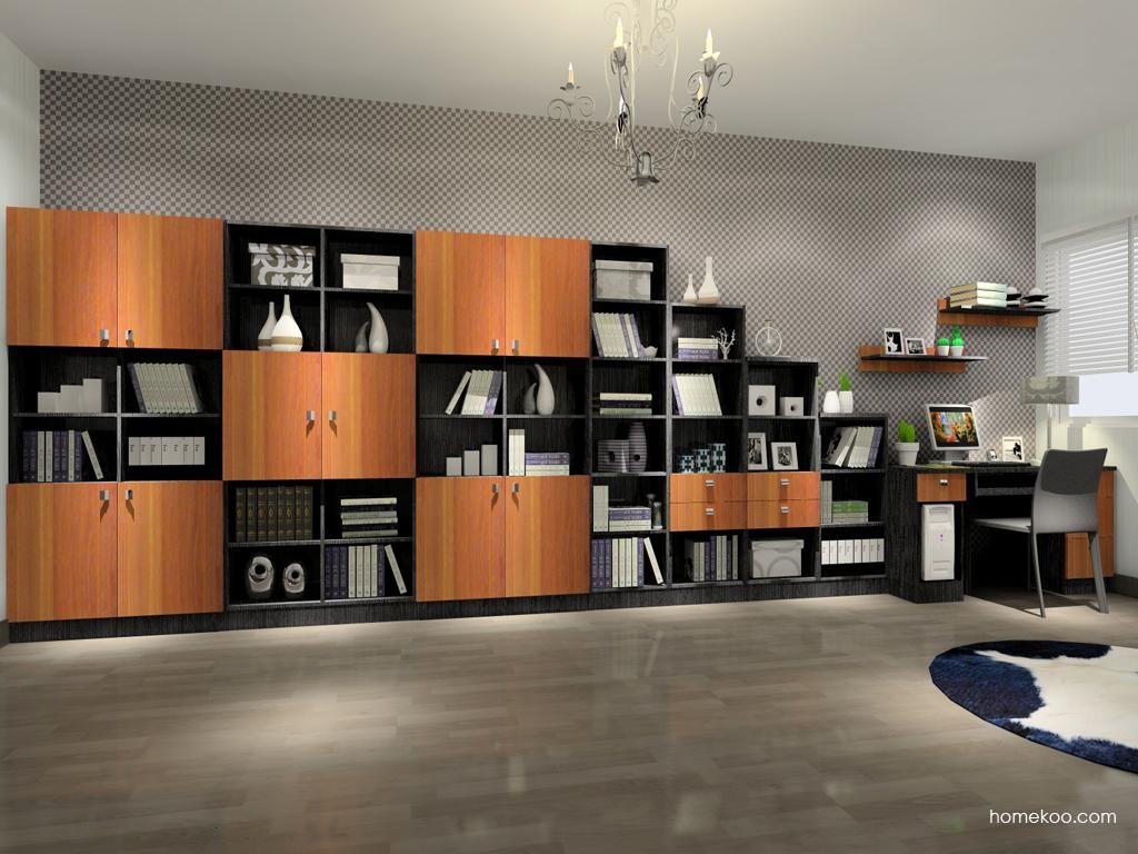 德国森林书房家具C3805
