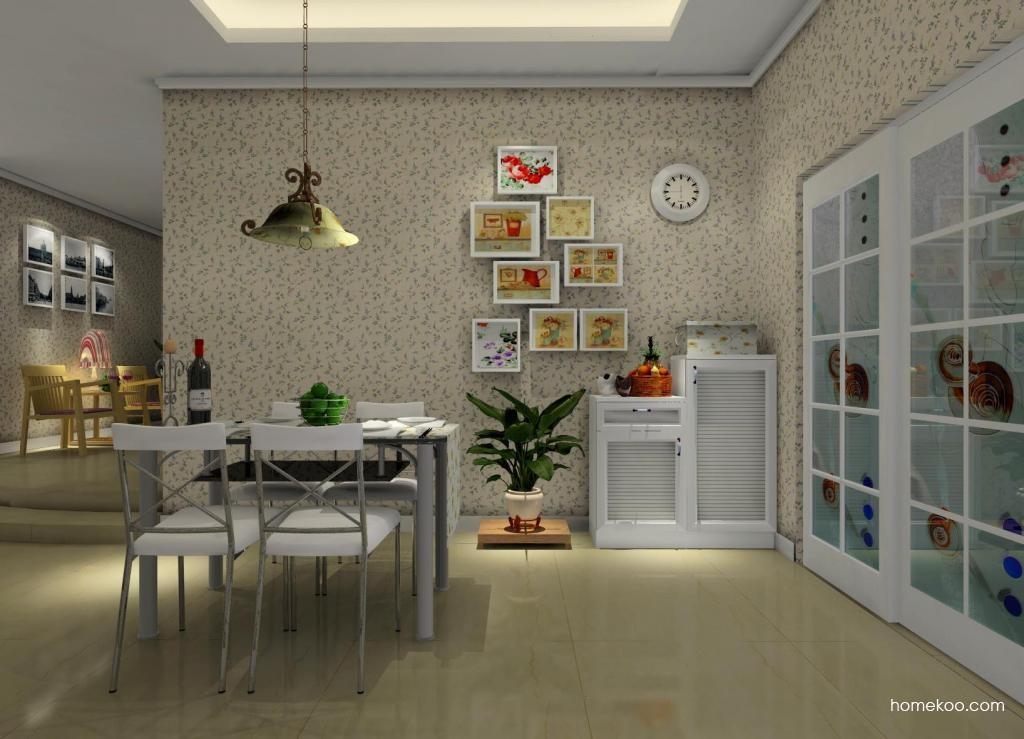 浪漫主义餐厅家具E1164