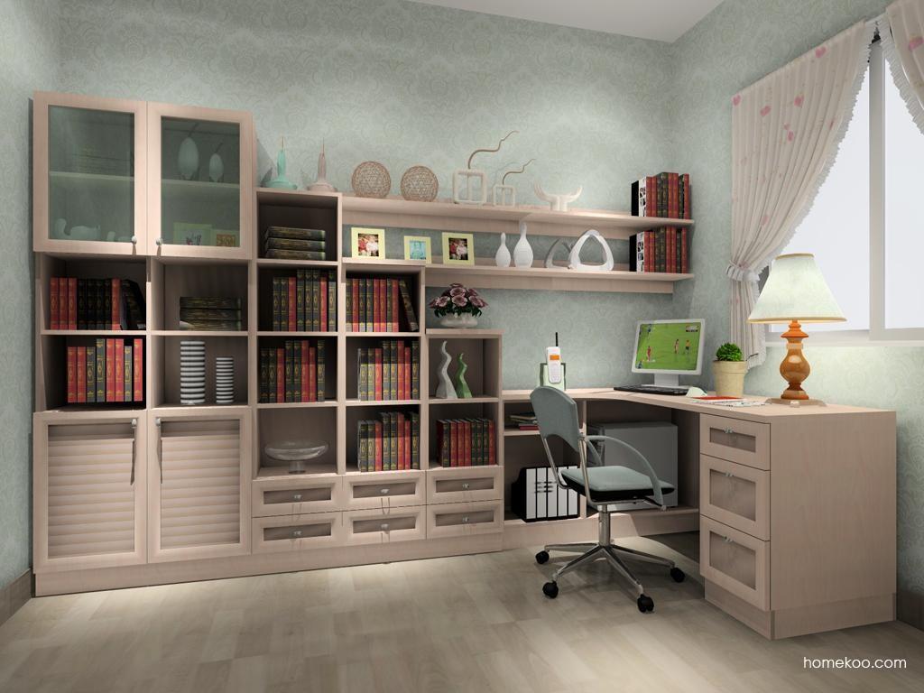 北欧阳光书房家具C3802