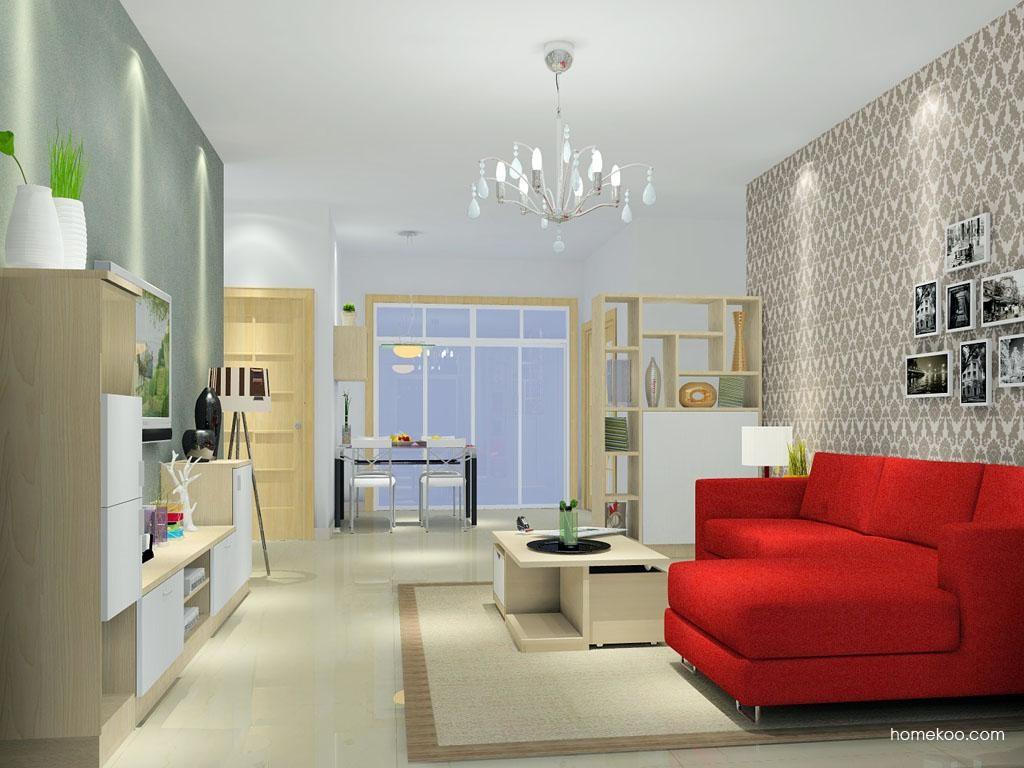 新实用主义客厅家具D0951