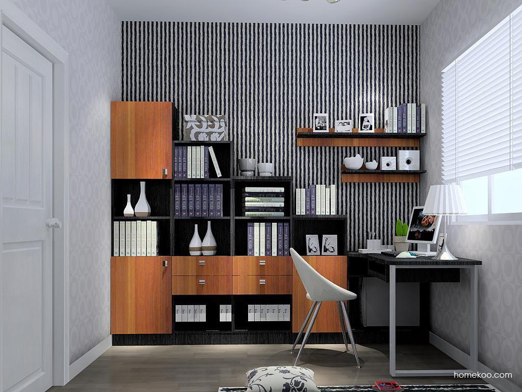 德国森林书房家具C3824