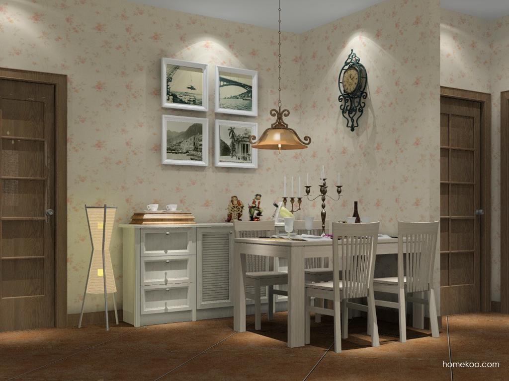 英伦印象餐厅家具E1196