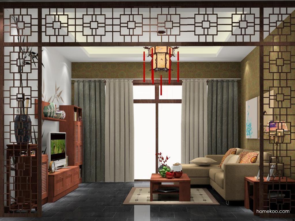 新中式主义客餐厅G6662