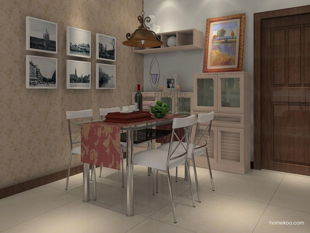 北欧阳光餐厅家具E1213