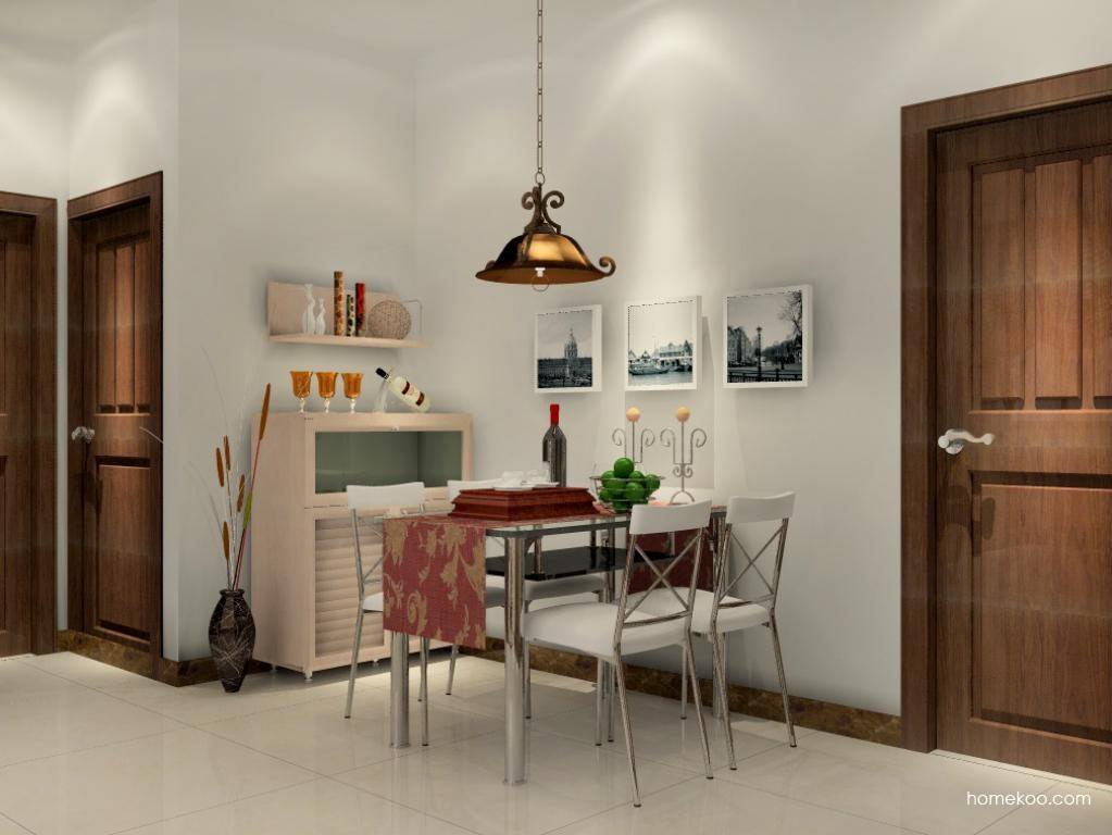 北欧阳光餐厅家具E1223