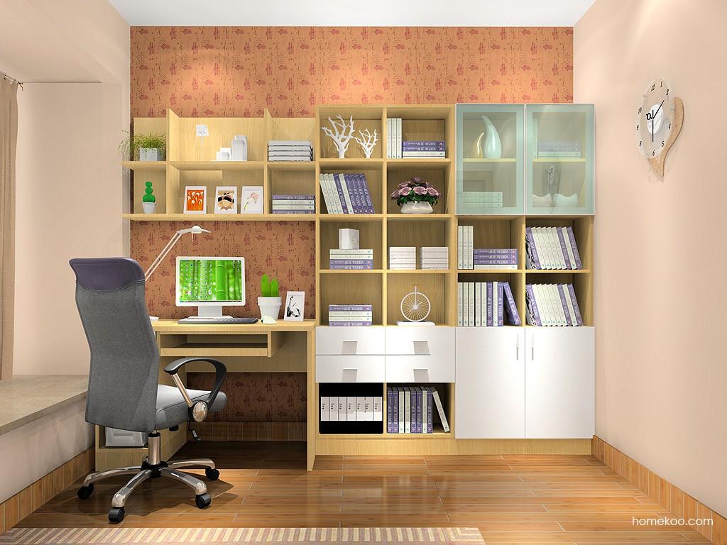 新实用主义书房家具C3860