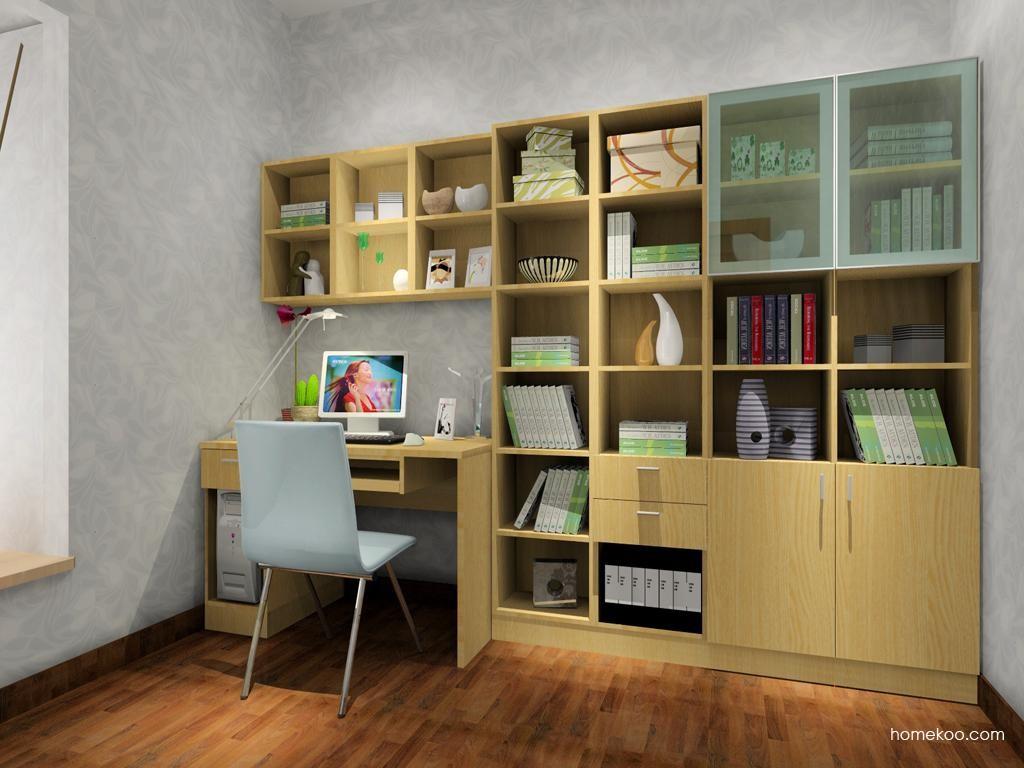 新实用主义书房家具C3873